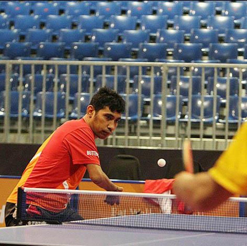 David Jacobs Siap Tampil di Tunggal dan Ganda Tenis Meja Asian Para Games