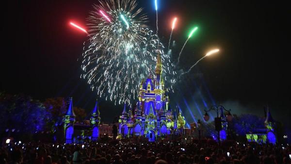Orlando di Amerika juga masuk kota populer tahun 2018. Tidak heran, Orlando punya taman rekreasi Disneyland yang sangat populer (Getty Images)