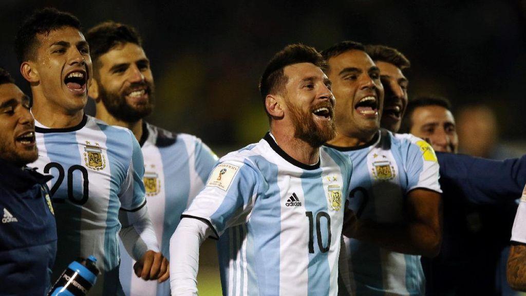 Dubes Argentina di Rusia Tanggapi Poster Ancaman ISIS Bergambar Messi