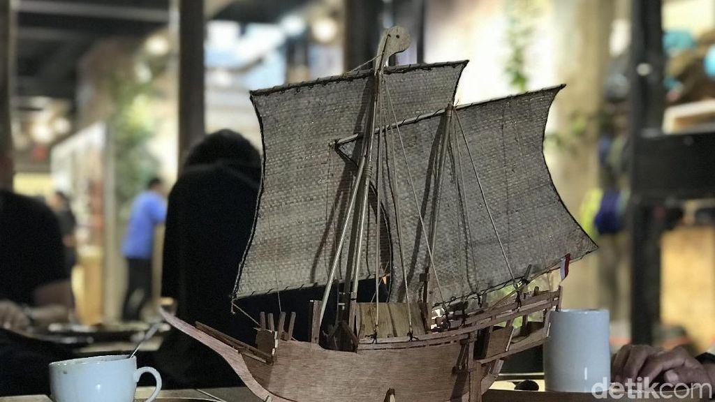 Mantap! Perahu Pengangkut Rempah-rempah Indonesia Dipamerkan di Belgia