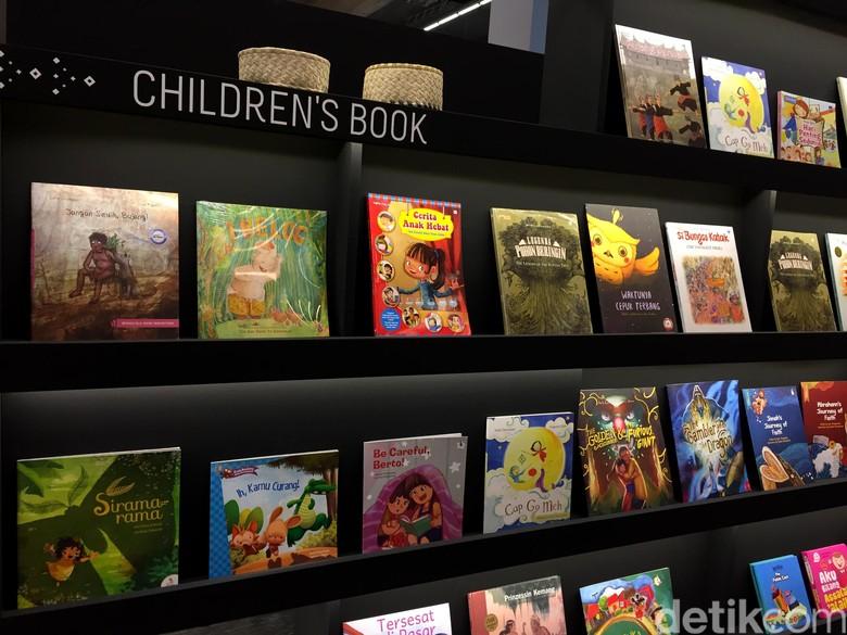 Buku Anak dan Komik Indonesia Banjir Peminat di Frankfurt Book Fair 2017 Foto: Ken Yunita/detikHOT