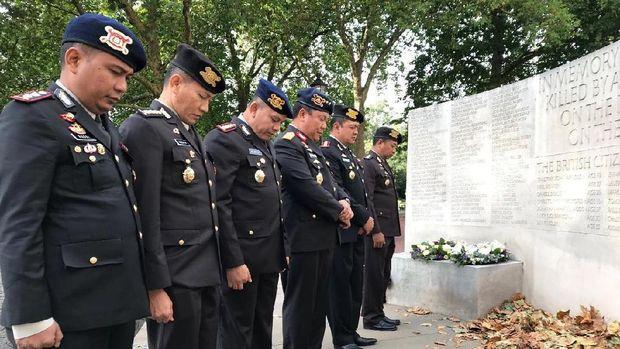 Kapolda Bali Peringati Tragedi Bom Bali di London
