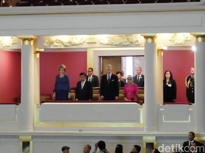 JK, Megawati dan Raja Belgia Hadiri Pembukaan Europalia di Brussel