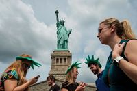 Patung Liberty di New York