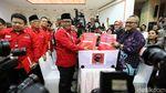 Hasto Daftarkan PDIP Jadi Peserta Pemilu 2019