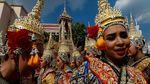Melihat Persiapan Kremasi Raja Thailand yang Megah