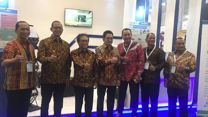 Jajaran Direksi Indonesia Eximbank/Foto: Suqi Rizqi Lestari/detikcom