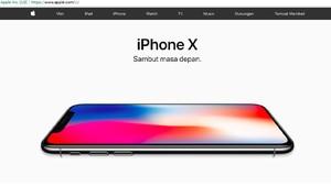 Apple Indonesia Mulai Buka-bukaan iPhone X