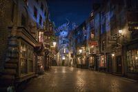 Set Film Harry Potter di Universal Studios Florida./