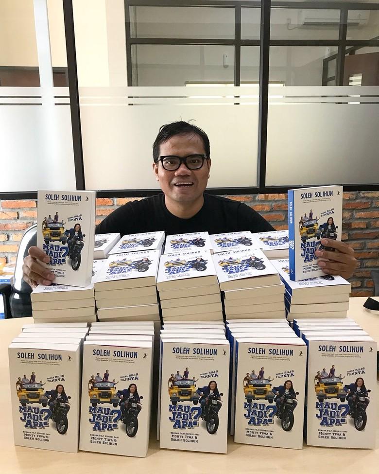 Buku Mau Jadi Apa? Soleh Solihun Sudah Tersedia di Toko Buku