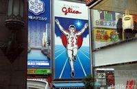 Glico Man (Wahyu Setyo/detikcom)