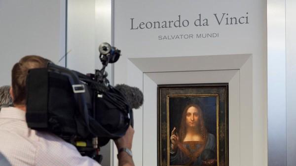 Lukisan Kristus Leonardo da Vinci Pecahkan Rekor Rp 6 Triliun