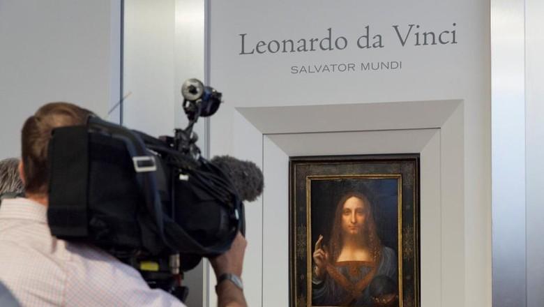 Lukisan Fenomenal Kristus Leonardo da Vinci Dilelang Rp 1,3 Triliun