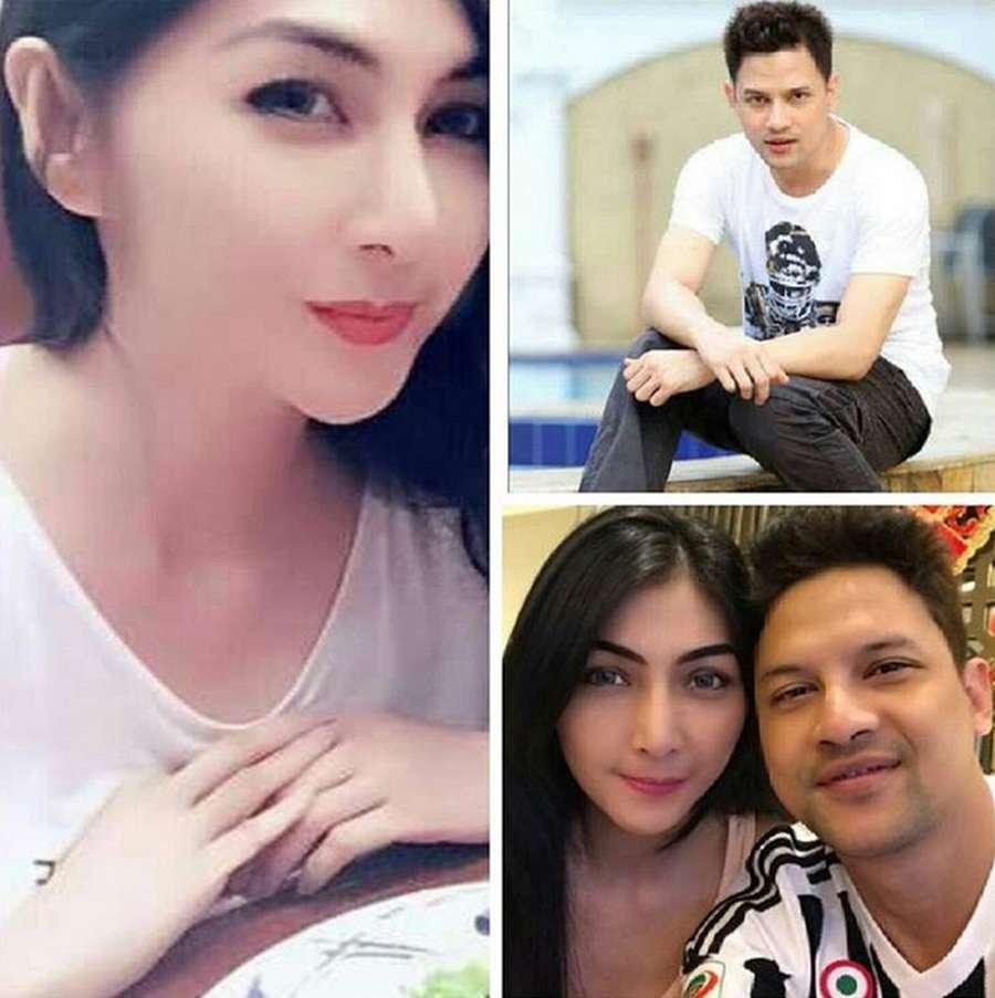 Restu dan Beda Agama Warnai Perjalanan Cinta Lucky Perdana dan Sang Istri