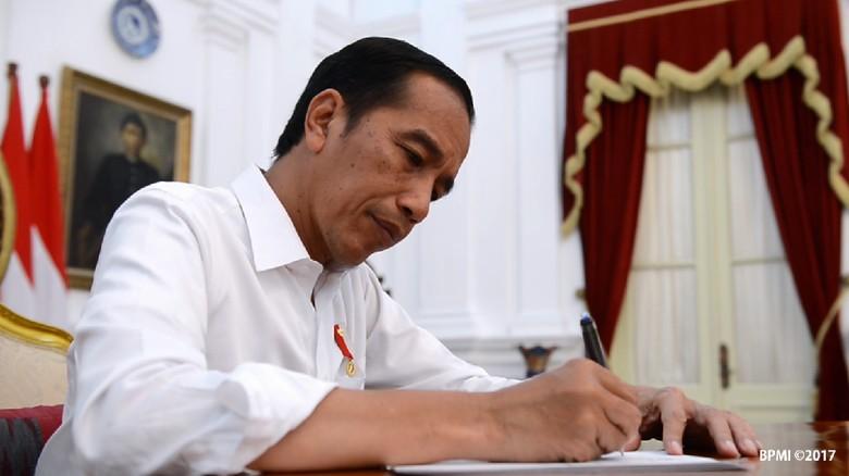 Didampingi Gubernur NTB, Jokowi Hadiri Acara Alumni Al-Azhar