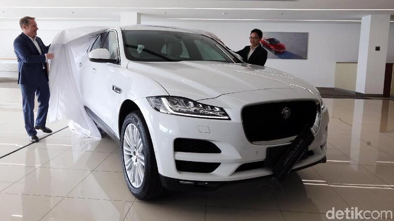 Tawarkan Mesin Baru, Jadi Alasan Jaguar Baru Kenalkan F-Pace Foto: Ari Saputra