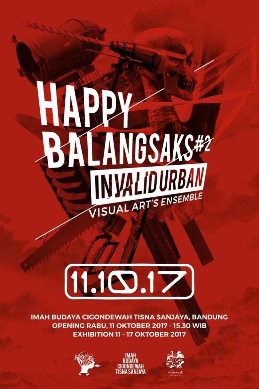 Invalid Urban Gelar Pameran Seni Happy Balangsak 2
