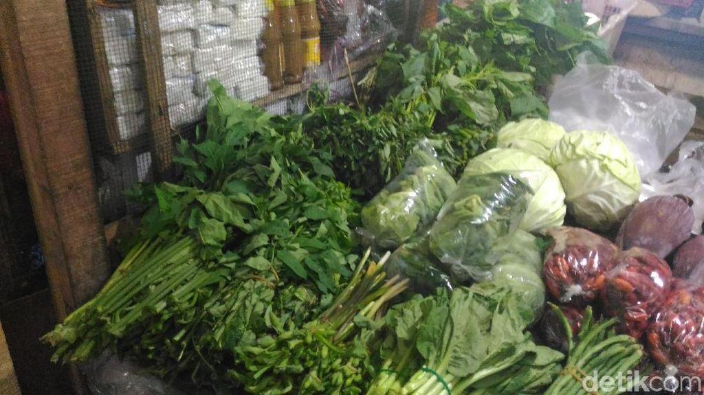 Musim Hujan, Harga Sayuran Melonjak Hingga Rp 5.000