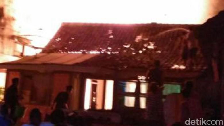 Rumah di Blora Ludes Terbakar Akibat Korsleting Listrik