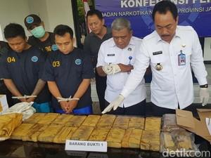 BNNP Jateng Ungkap Kiriman 10 Kg Ganja dalam Paket Kopi dari Aceh