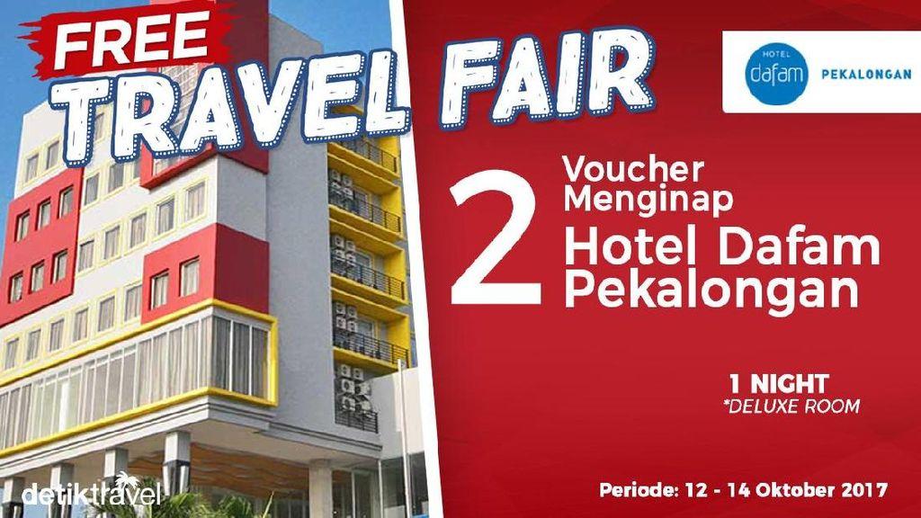 #FreeTravelFair : Tidur Gratis di Hotel Dafam Pekalongan