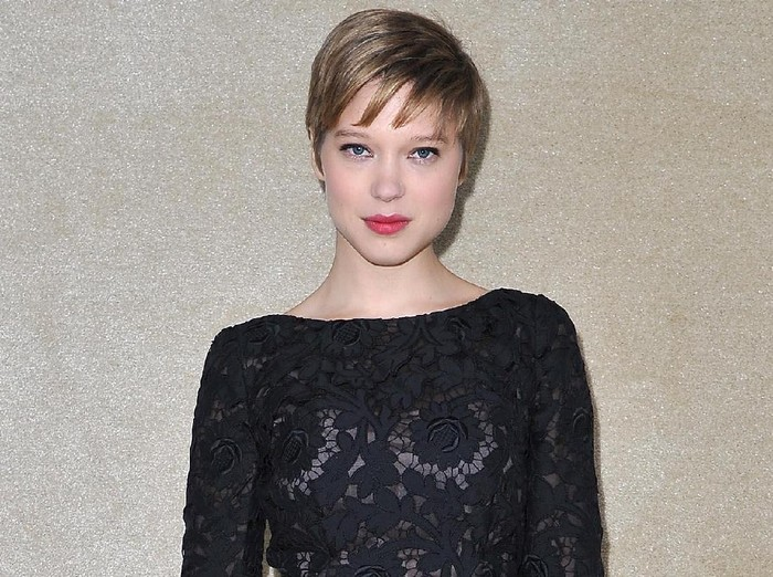 PARIS, FRANCE - MARCH 07:  Lea Seydoux attends the Miu Miu Ready-To-Wear Fall/Winter 2012 show as part of Paris Fashion Week at Conseil Economique et Social on March 7, 2012 in Paris, France.  (Photo by Pascal Le Segretain/Getty Images)