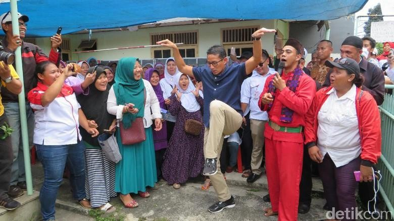 Jurus Bangau Disindir Junior di Kubu Jokowi, Sandi Ngaku Tetap Cinta