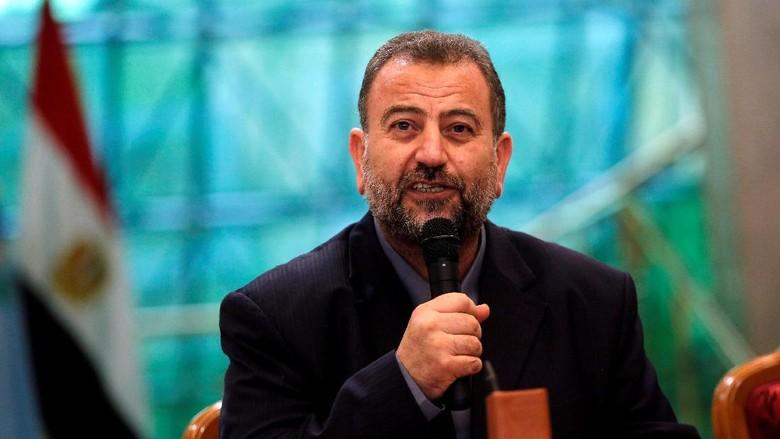 Potret Momen Penandatanganan Rekonsiliasi Hamas dan Fatah