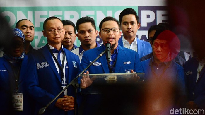 Fraksi PAN di DPR RI dipimpin Hanafi Rais. (Ari Saputra/detikcom)