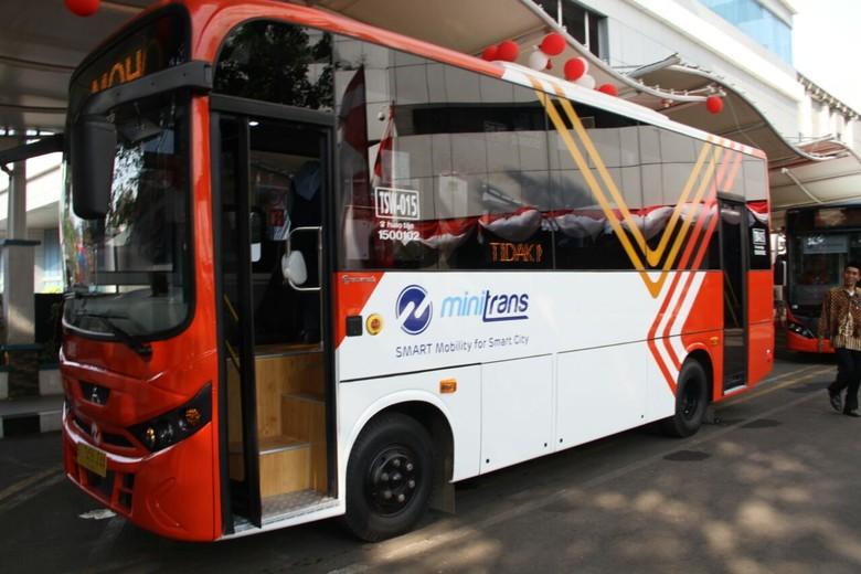 Minitrans. Foto: Pool (Transjakarta)