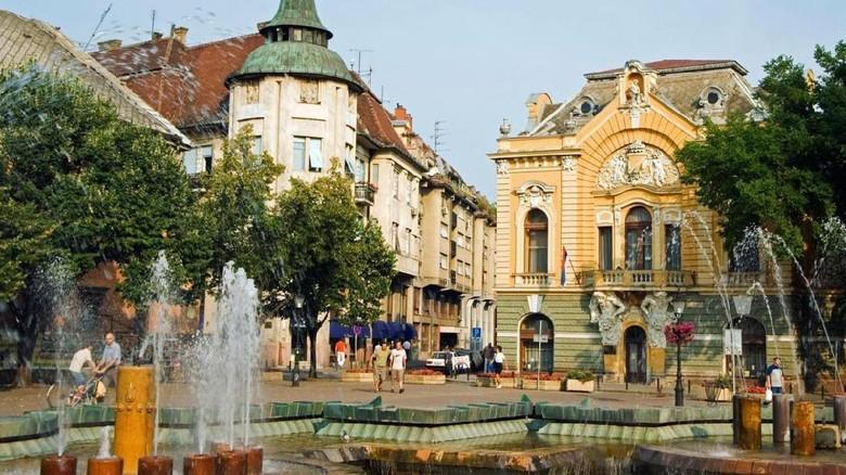 Ibukota Belgrade di Serbia (Randy/detikTravel)