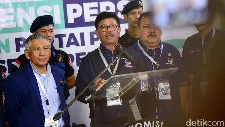 NasDem Daftar Pemilu 2019 Serentak di 34 Provinsi