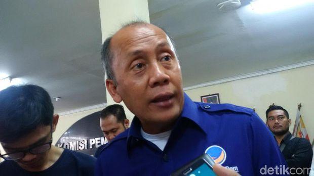 Ketua DPW NasDem Jabar Saan Mustopa