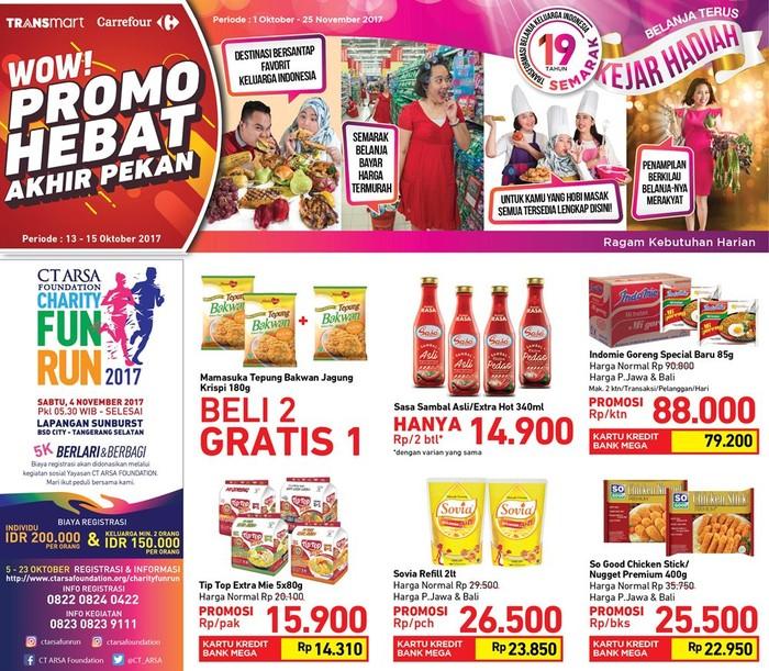 Foto: Promo bahan makanan di Transmart Carrefour (Dok. Transmart Carrefour)