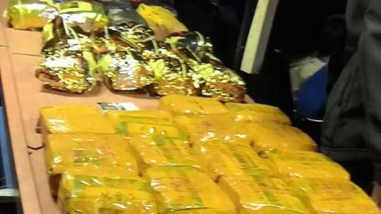 4 Penyelundup Narkoba ke Aceh Diciduk, 30 Kg Sabu Disita