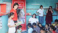 Inspiratif, Noni Cantik Manado Ini Suka Rela Mengajar Anak Pedagang Pasar