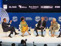 Diskusi Sengit Sri Mulyani, Menkeu Prancis dan Bos IMF