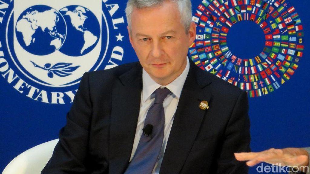 Menteri Keuangan Prancis Dinyatakan Positif virus Corona