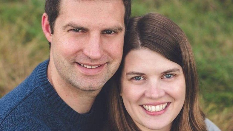 Katie (kanan) meninggal dalam kecelakaan usai jenguk bayinya (Foto: Facebook/ Jacob Evans)