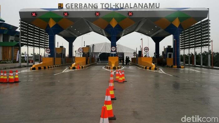 Dua ruas tol Trans Sumatera akan diresmikan Presiden Jokowi. Tol Medan-Binjai seksi 2 dan 3 (Helvetia-Binjai) sepanjang 10,46 km dan Medan-Kualanamu-Tebing Tinggi seksi 2-6 (Parbarakan-Sei Rampah) sepanjang 41,65 km.