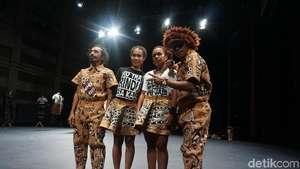 Aksi Seniman Papua Darlene Litaay yang Memukau di Belgia