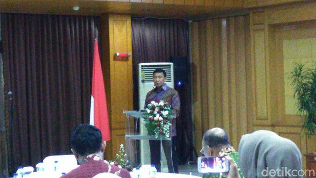 Menko Polhukam Wiranto bertemu dengan Asosiasi Badan Penyelenggara PTS.