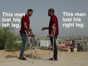 Kisah 2 Pria Gaza yang Kehilangan Sebelah Kaki Usai Diserang Israel