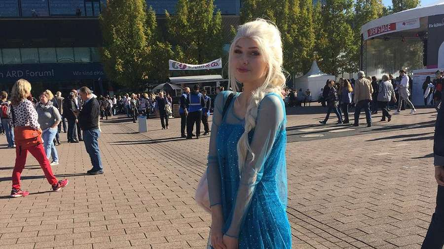 Wolverine sampai Princess Elsa Serbu Frankfurt Book Fair 2017