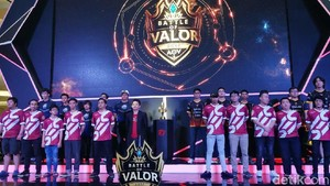 Grand Final Battle of Valor Diserbu 1.000 Pengunjung