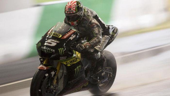 Pebalap Yamaha Tech 3 Johann Zarco pole di MotoGP Jepang (Mirco Lazzari gp/Getty Images)