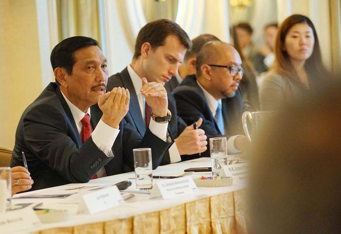Luhut pun menegaskan Indonesia aman untuk berinvestasi. Foto: dok. Kemenko Maritim