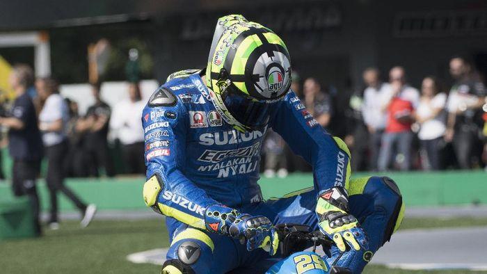 Andrea Iannone punya kebiasaan aneh jelang balapan (Mirco Lazzari gp/Getty Images)