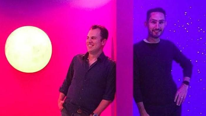 Mike Krieger dan Kevin Systrom. Foto: Istimewa/Facebook