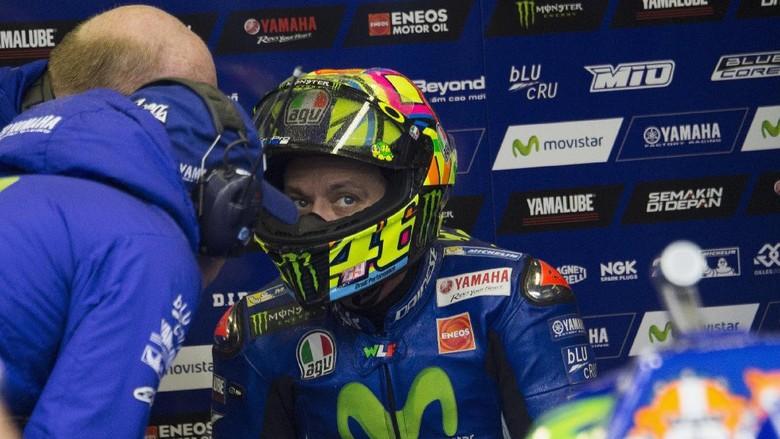Gagal Juara Dunia, Rossi: Bukan karena Patah Kaki